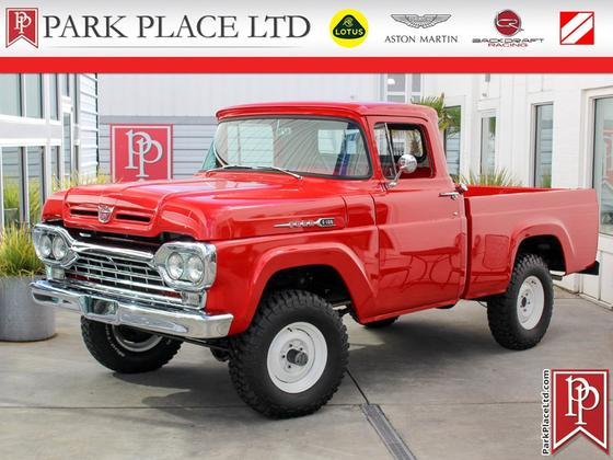 1960 Ford Classics F100:24 car images available