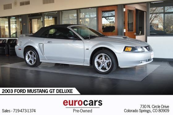 2003 Ford Mustang Deluxe:24 car images available