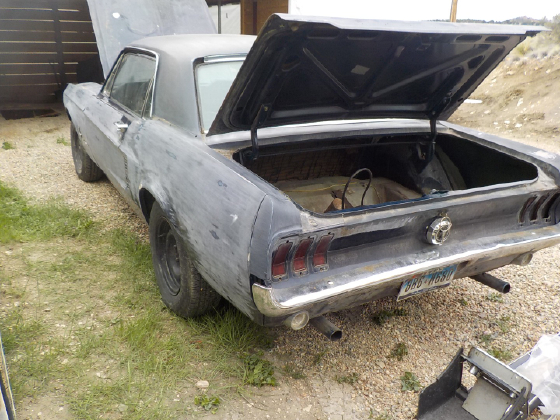 1967 Ford Mustang Deluxe