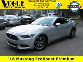 2016 Ford Mustang EcoBoost:23 car images available