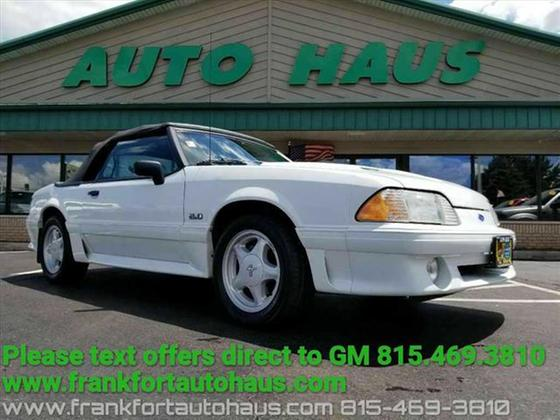1992 Ford Mustang GT:24 car images available