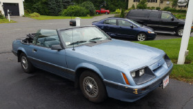 1986 Ford Mustang LX:6 car images available