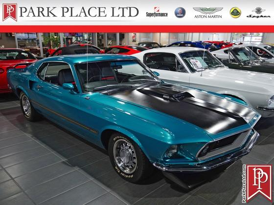 1969 Ford Mustang Mach 1:10 car images available