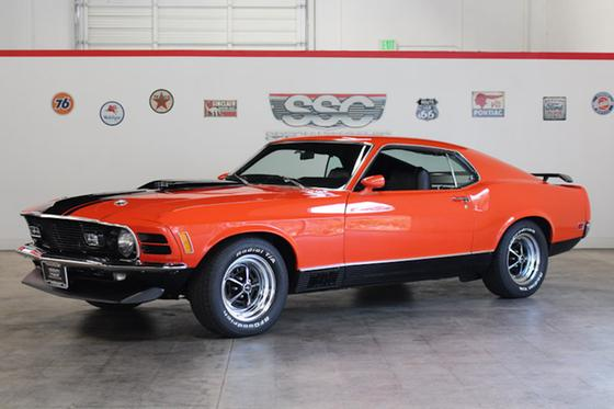 1970 Ford Mustang Mach 1:9 car images available