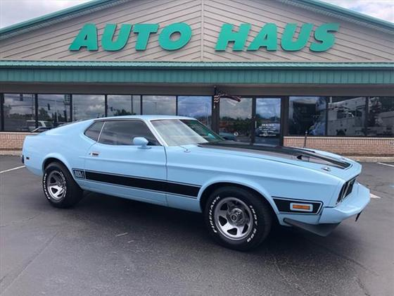 1973 Ford Mustang Mach 1:24 car images available