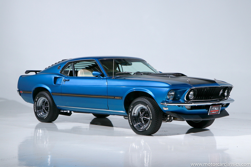 1969 Ford Mustang Mach 1:24 car images available