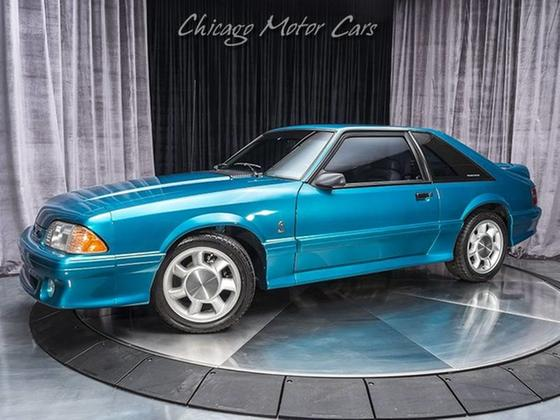 1993 Ford Mustang SVT Cobra:24 car images available