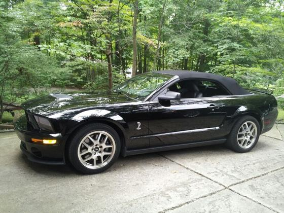 2007 Ford Mustang Shelby GT500 : Car has generic photo