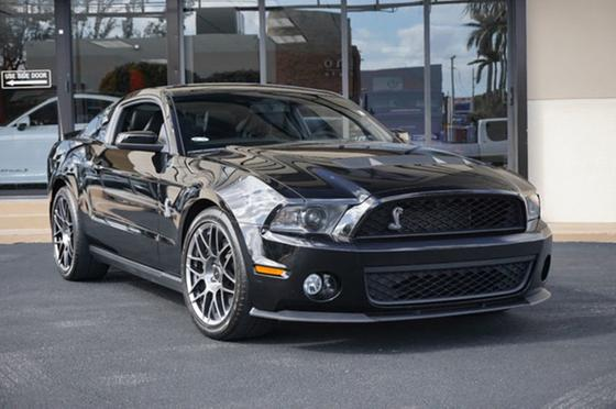 2012 Ford Mustang Shelby GT500:24 car images available