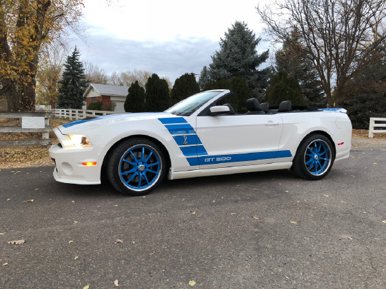 2011 Ford Mustang Shelby GT500