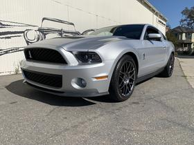 2012 Ford Mustang Shelby GT500:9 car images available