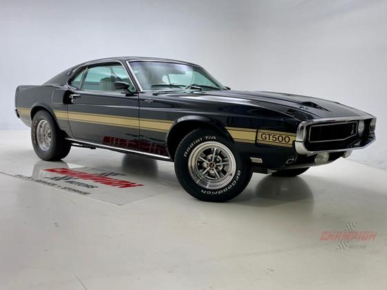 1969 Ford Mustang Shelby GT500:24 car images available