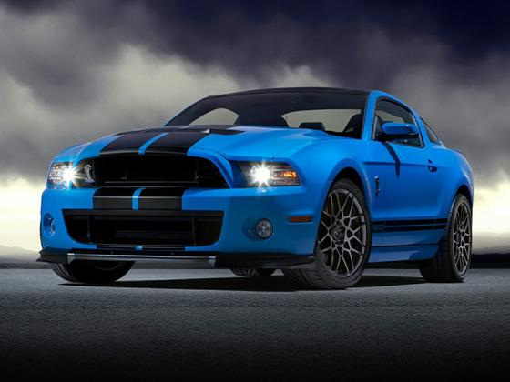 2014 Ford Mustang Shelby GT500 : Car has generic photo