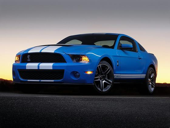 2012 Ford Mustang Shelby GT500 : Car has generic photo