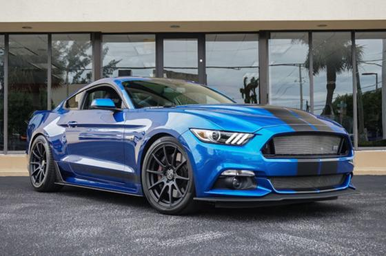 2017 Ford Mustang Shelby GTE:24 car images available