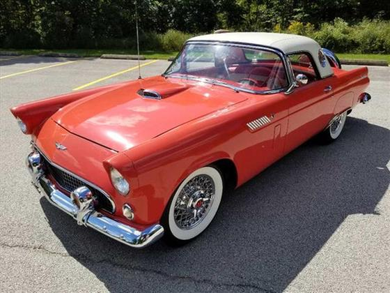 1956 Ford Thunderbird :24 car images available