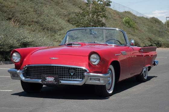 1957 Ford Thunderbird :9 car images available
