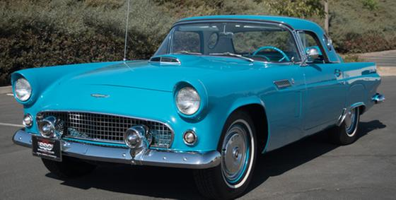 1956 Ford Thunderbird :9 car images available