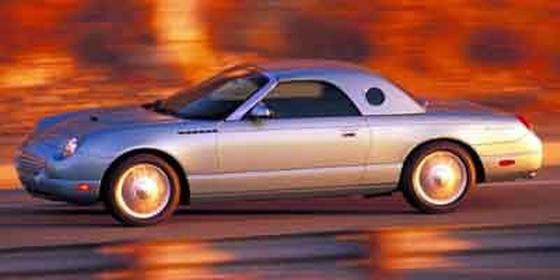 2002 Ford Thunderbird  : Car has generic photo