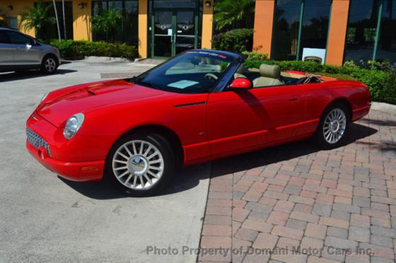 2004 Ford Thunderbird Premium:24 car images available