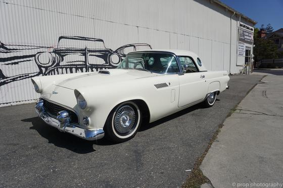 1956 Ford Thunderbird Roadster:9 car images available