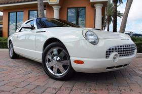 2002 Ford Thunderbird Roadster:24 car images available