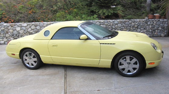 2002 Ford Thunderbird Roadster:6 car images available
