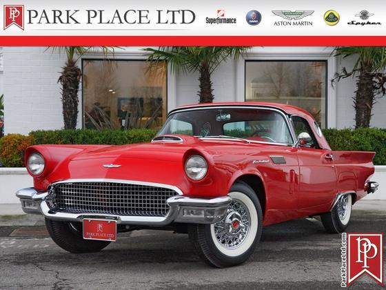 1957 Ford Thunderbird Roadster:24 car images available