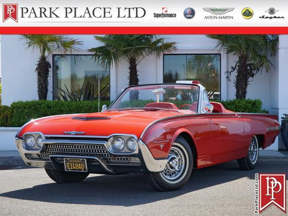 1962 Ford Thunderbird Roadster:20 car images available
