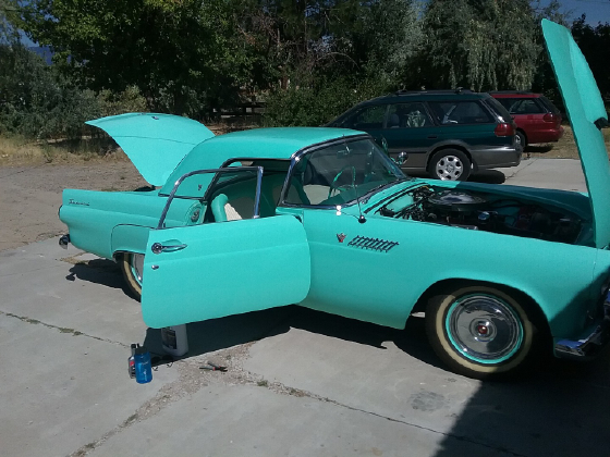 1955 Ford Thunderbird Roadster