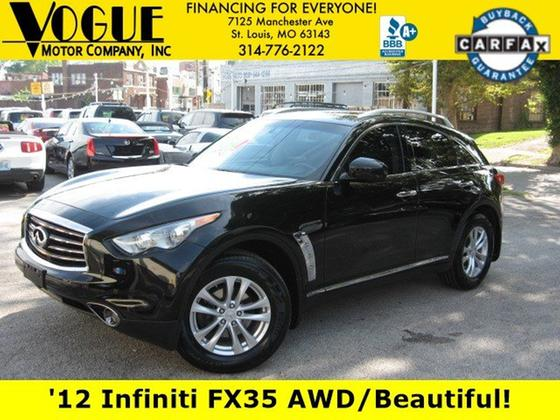 2012 Infiniti FX35 :24 car images available