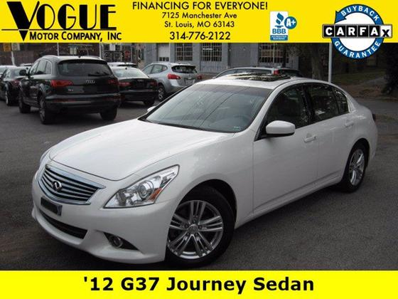 2012 Infiniti G37 Journey:24 car images available