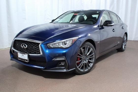 2018 Infiniti Q50 Red Sport 400:20 car images available