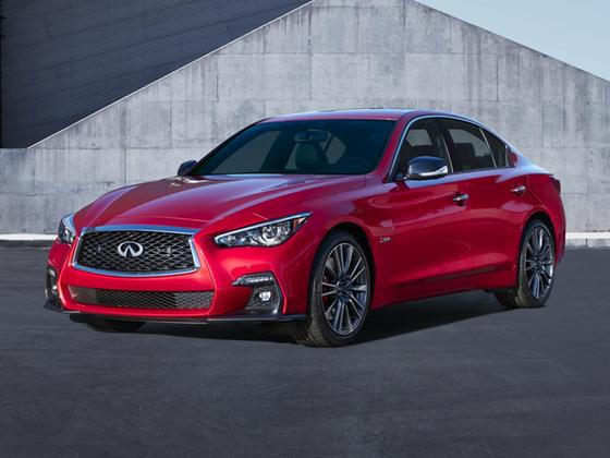 2018 Infiniti Q50 Red Sport 400 : Car has generic photo