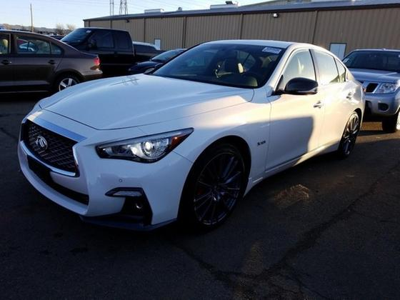 2018 Infiniti Q50 Red Sport 400:5 car images available