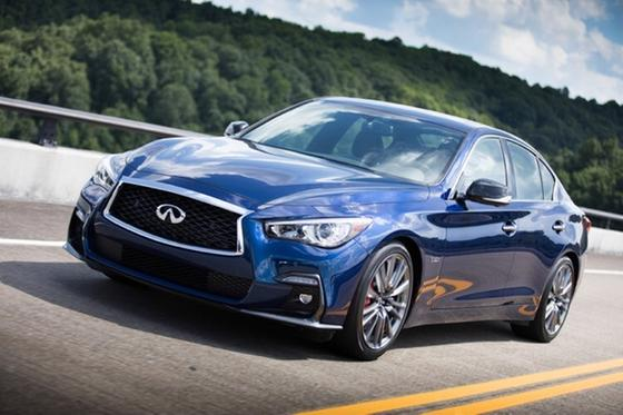 2019 Infiniti Q50 Red Sport 400:2 car images available