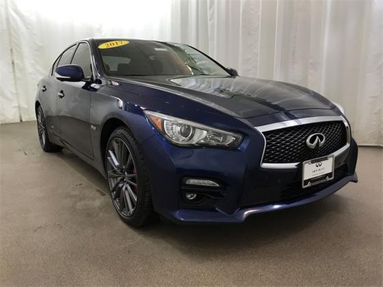 2017 Infiniti Q50 Red Sport 400:24 car images available