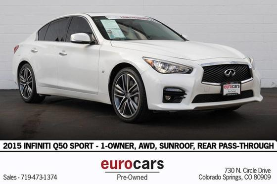 2015 Infiniti Q50 Sport:24 car images available