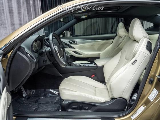 2018 Infiniti Q60 Red Sport 400