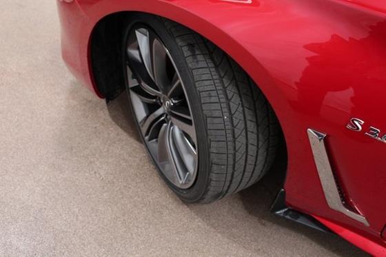 2019 Infiniti Q60 Red Sport 400