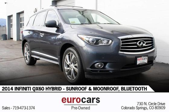 2014 Infiniti QX60 Hybrid:24 car images available