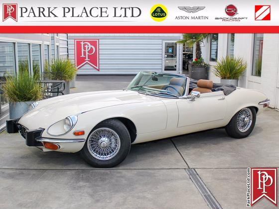 1974 Jaguar E-Type Convertible:24 car images available