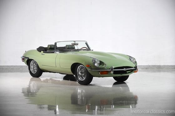 1969 Jaguar E-Type Roadster:24 car images available