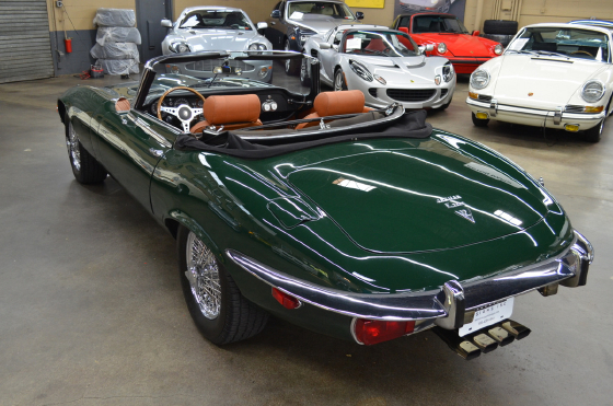 1972 Jaguar E-Type Roadster