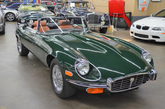 1972 Jaguar E-Type Roadster:12 car images available