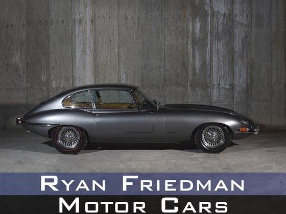 1967 Jaguar E-Type XKE 2+2 Coupe : Car has generic photo