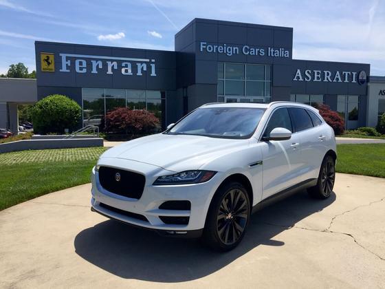 2018 Jaguar F-PACE 35t Portfolio:24 car images available