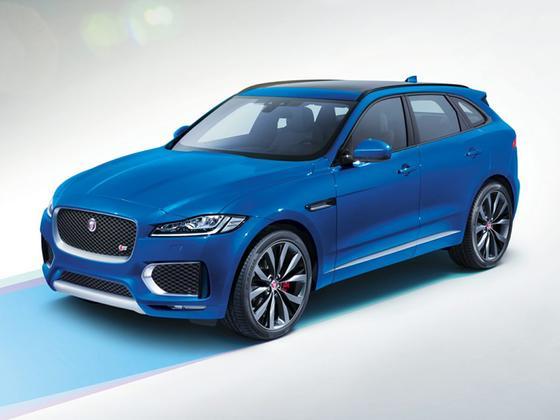 2017 Jaguar F-PACE S : Car has generic photo