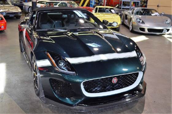 2016 Jaguar F-Type Project 7:24 car images available