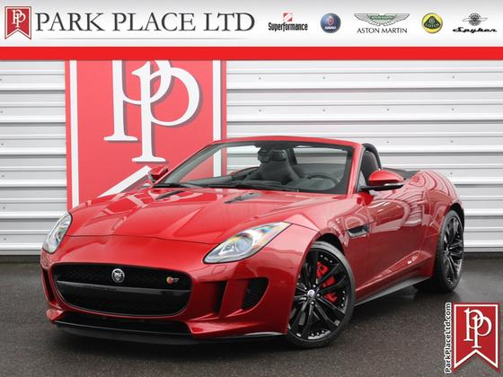 2014 Jaguar F-Type V8 S Roadster:24 car images available